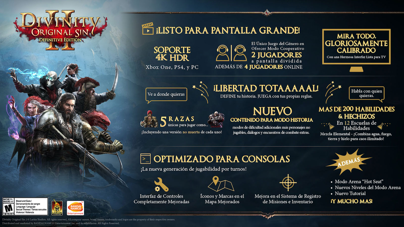 Divinity Original Sin Ii Definitive Edition Ps4 Microplay
