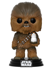 Figura, POP!, Star, Wars, The, Last, Jedi, Chewbacca, Porg, pop star wars, sw, figura star wars, pop chewbacca,