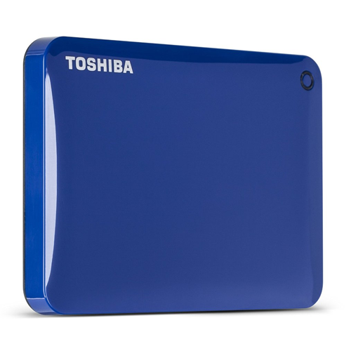 Disco Duro Canvio Connect II V8 1TB Azul USB 3.0 TOSHIBA