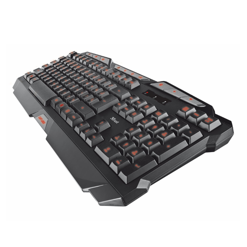 Teclado GXT 280 LED Illuminated Gaming ES Trust