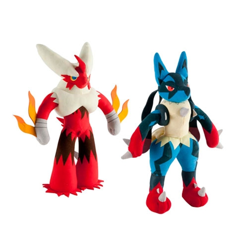 Peluches Pokemon Mega Blaz/Luc Training 13""