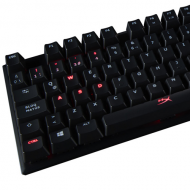 Teclado Mecánico Hyper X Alloy FPS Kingston Cherry MX Red Switch