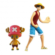 Figura One Piece Luffy y Chopper