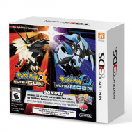 Pokemon Ultra Sun & Moon Veteran Trainer 2 Pack 3DS