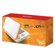 Consola Nintendo New 2DS XL White and Orange