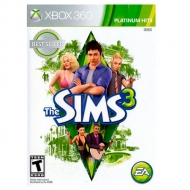The Sims 3 Platinum Hits Xbox 360