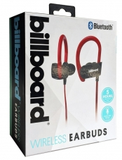 Audífonos In Ear Bluetooth B897 Rojo Billboard