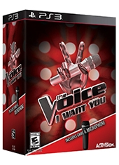 The Voice PS3 Incluye Microfono
