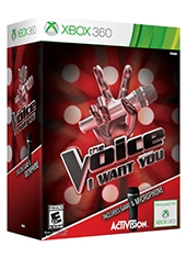 The Voice Xbox 360 Incluye Microfono