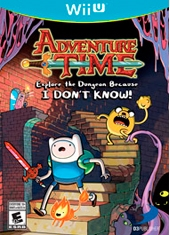 Adventure Time Explore the Dungeon Because I DONT KNOW! Wii U