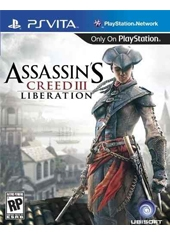 Assassins Creed III Liberation PS Vita