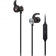 Audífonos In Ear Bluetooth Magnetico Negro Monster
