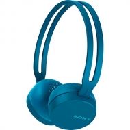 Audífonos Over Ear Bluetooth NFC Azul Sony