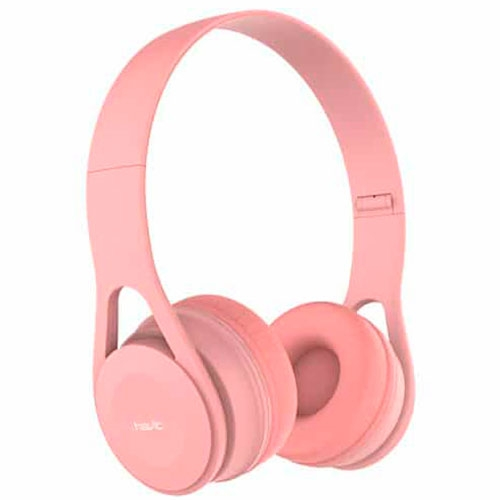 Audífonos Over Ear Cable H2262D Rosado Havit