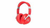 Audífonos Over Ear Pulse 200 Con Cable Rojo Motorola