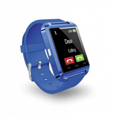Smartwatch, Smart, Watch, Bluetooth, Wireless, 1.5, Azul, Blue, Microlab, Reloj, Reloj inteligente,