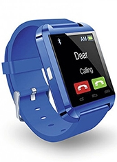 Smartwatch Bluetooth 1.5 Azul Microlab