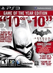 Batman Arkham City GOTY Ingles PS3