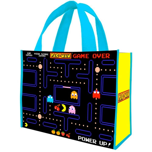 Bolsa Pac Man Large Recycled Shopper Tote
