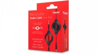 Cable Audio 3.5 Retractil Twin Pack Isound