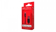 Cable Lightning 1.2M Charge SyncNegro Isound