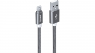 Cable Lightning 3 Metros Heavy Duty Silver Isound