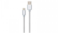 Cable TYPE-C 1.2M Goma Blanco Philips