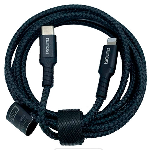 Cable Type-C a Lightning 1.8M Dura Power Isound