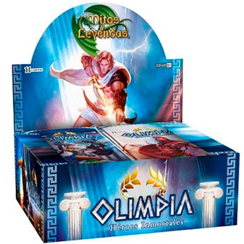 Cartas Mitos y Leyendas Olimpia Display