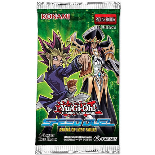Cartas Yu-Gi-Oh Speed Duel Arena Lost Souls Sobre Inglés