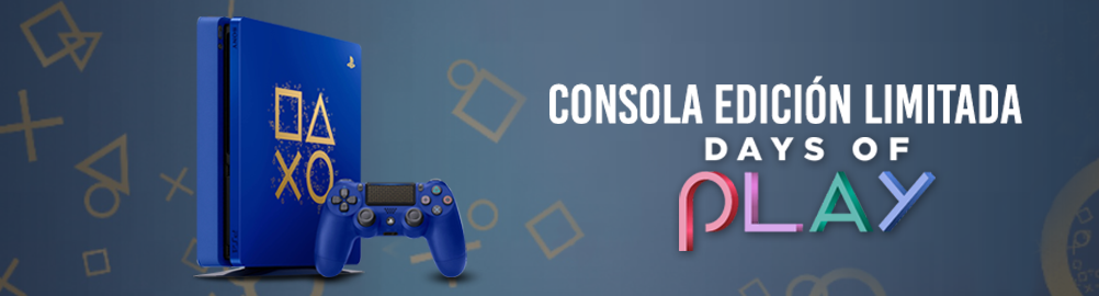 Consola Playstation PS4 1TB Edicion Limitada Days Of Play