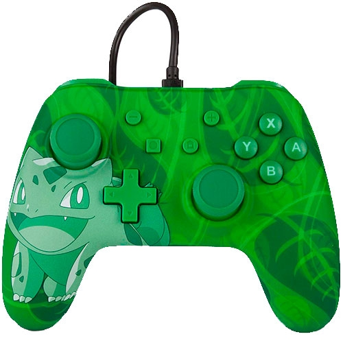 Control Nintendo Switch Wired Bulbasaur PowerA