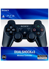 Control PS3 Dualshock 3 Wireless Black Sony