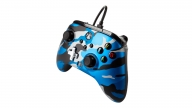 Control Xbox One Enhanced Wired Metallic Blue Camo PowerA