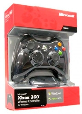 Control Xbox 360 Wireless for Windows USB Black
