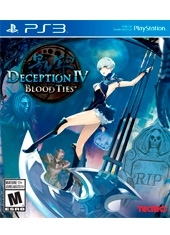 Deception IV Blood Ties PS3