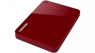 Disco Duro 1TB Canvio Advance Rojo Toshiba