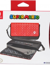 Estuche, Mario, Sleek, Traveler, Nintendo, Switch, Hori,Microplay,Estilo,Elegante
