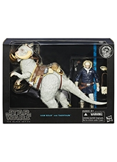 "Figura Star Wars The Black Series 6"" Han Solo and Tauntaun"