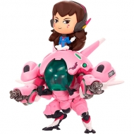 Figura Cute But Deadly Overwatch D.va With Meka