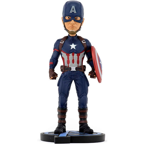 Figura Marvel Endgame Captain América Head Knocker