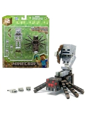 Figura Minecraft Spider Jockey Set