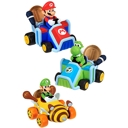 Figura Nintendo Racer 7 Cm With Coin Special Assortment Blister
