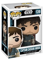 Figura POP! Star Wars Rogue One Cassian Andor