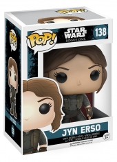 Figura, POP, POP!, Star, Wars, StarWars, Rogue, One, Rogue One, Jyn Erso, Funko