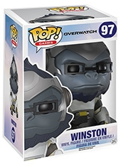 Figura POP Overwatch Super Sized Winston