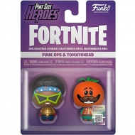 Figura Pint Size Heroes Fortnite Funk Ops And Tomatohead