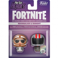 Figura Pint Size Heroes Fortnite Moonwalker And Burnout