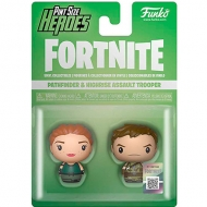 Figura Pint Size Heroes Fortnite Pathfinder And Highrise Assault Trooper