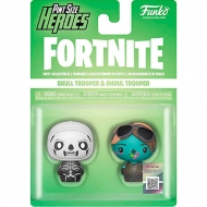 Figura Pint Size Heroes Fortnite Skull Trooper And Ghoul Trooper